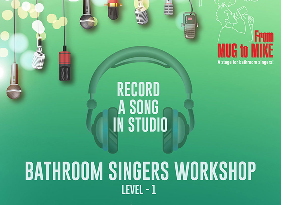 Bathroom Singers Workshop in Bangalore| Musical Events in India