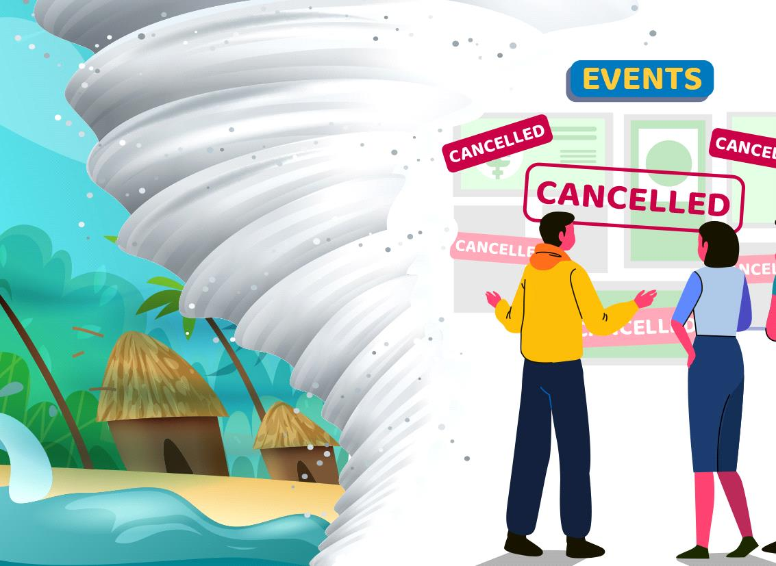 Impact of Natural Calamities on Event Industries & Ways to Recover from Disasters