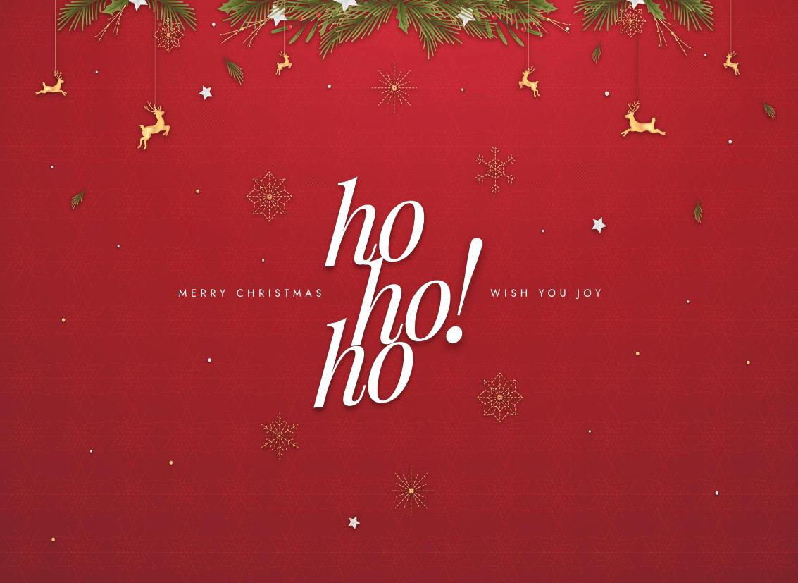 Ho! Ho! Ho! It's Christmas Season!!