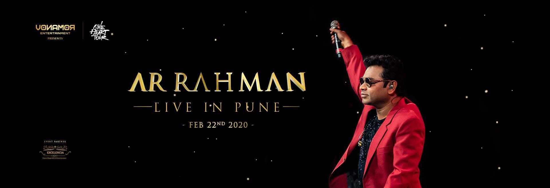 A R Rahman Live in Pune