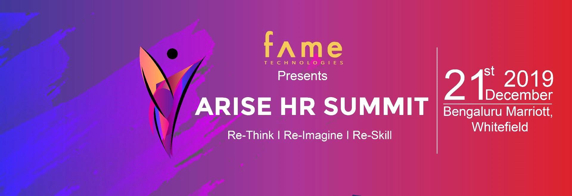 ARISE HR SUMMIT 2K19