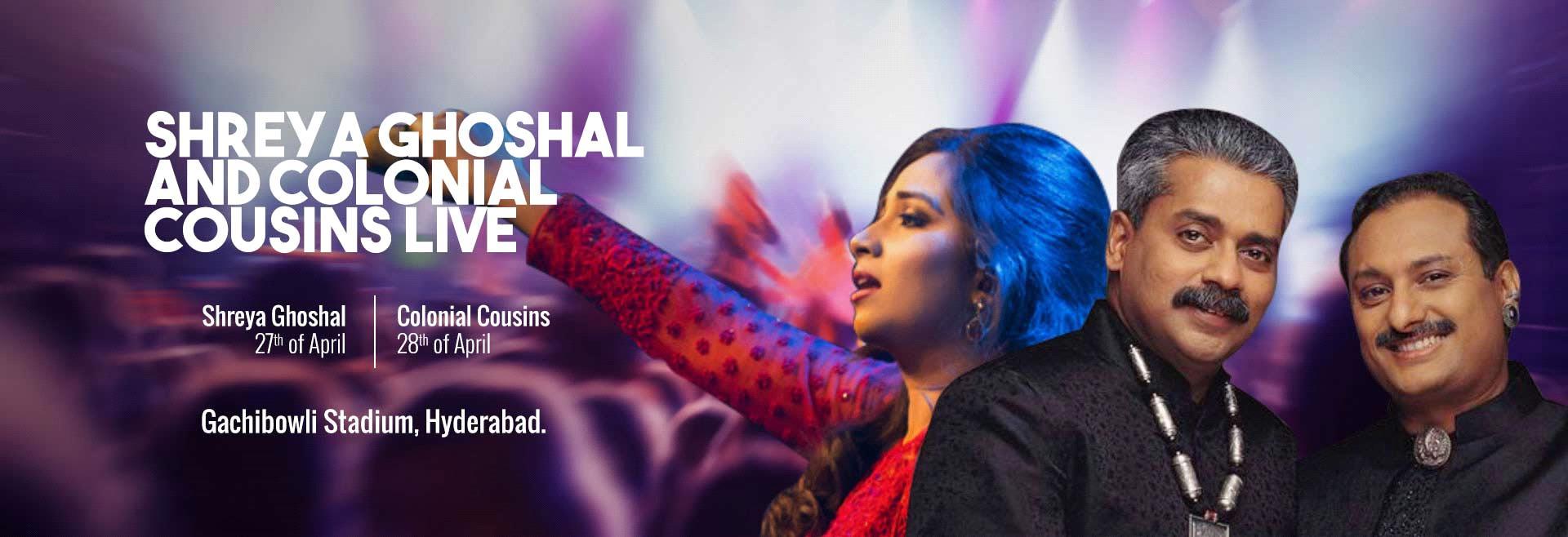 Shreya Ghoshal and Colonial Cousins Live