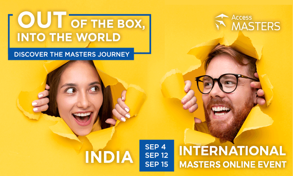 Access Masters Online Event in India