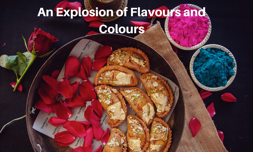 An Explosion of Flavours and Colours