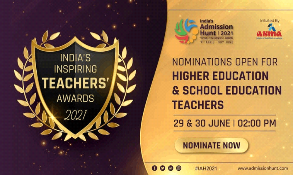 ASMA India's Inspiring Teachers Awards 2021