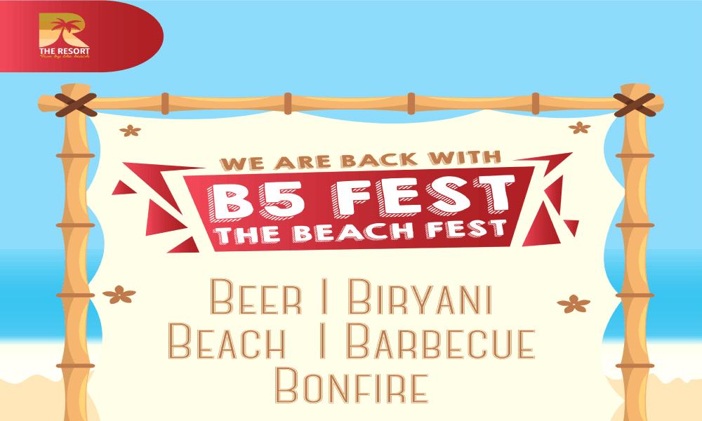 B5's Beach Festival 2021 at The Resort Mumbai