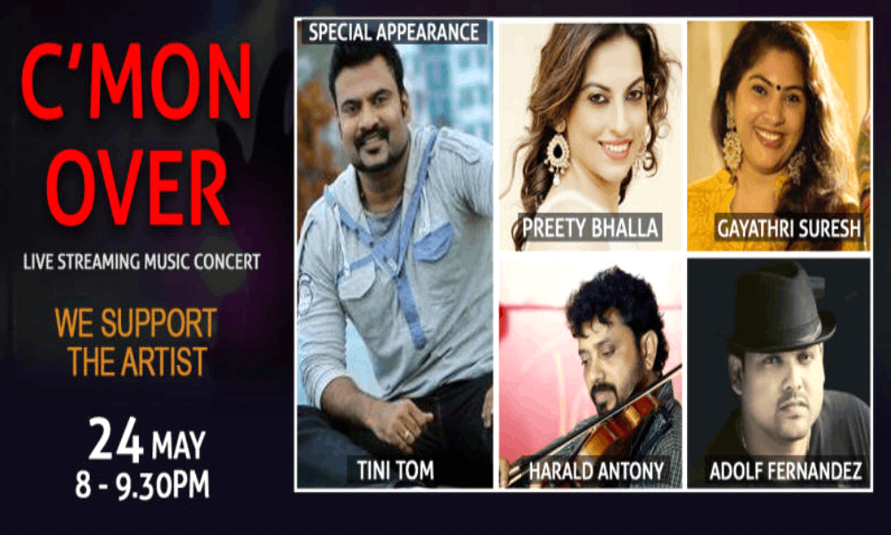 C'mon Over - Live Streaming Music Concert