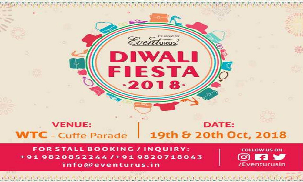 Diwali Fiesta Exhibition 2018 at  World Trade Center