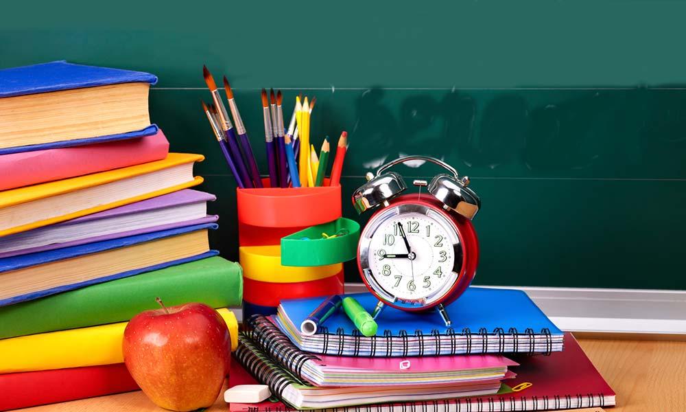 глубины картинка со школой учебниками светлых цветов