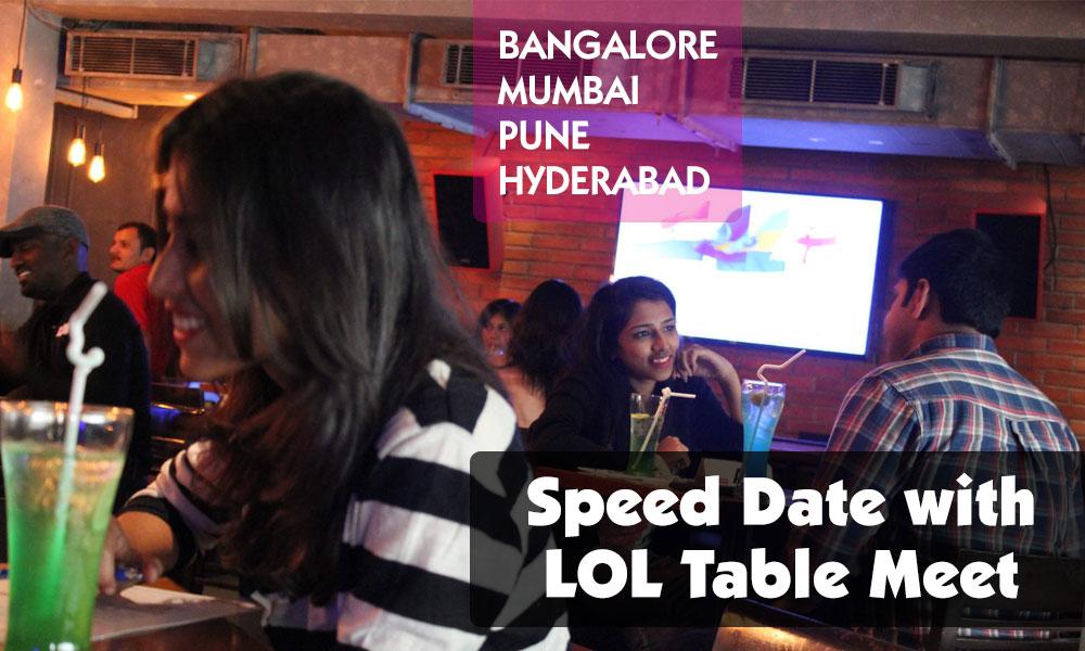 speed dating událost bangalore speed dating vědecké muzeum lates