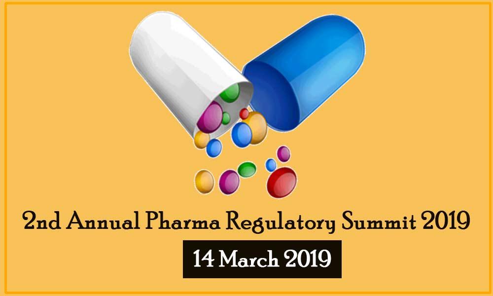 2nd Annual Pharma Regulatory Summit 2019