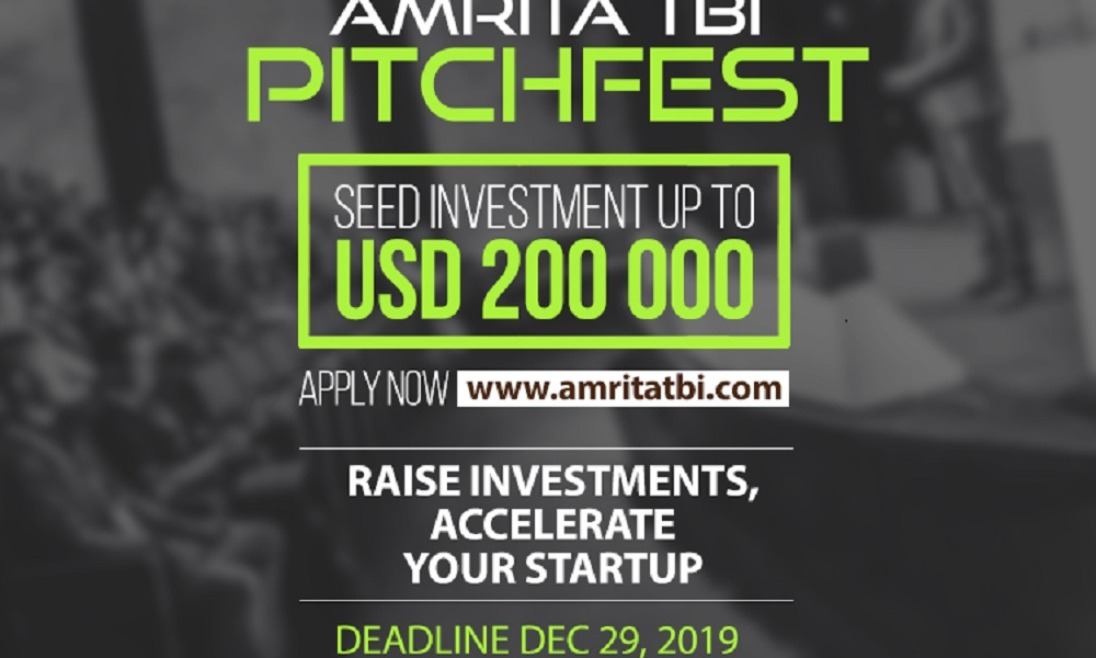 Amrita TBI pitchfest 2020