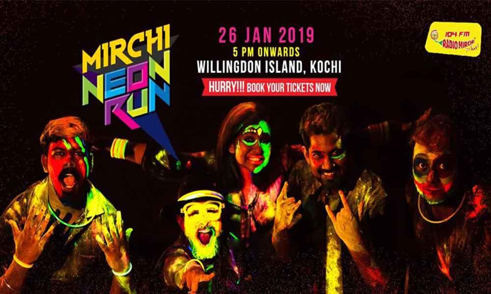 Mirchi Neon Run Kochi