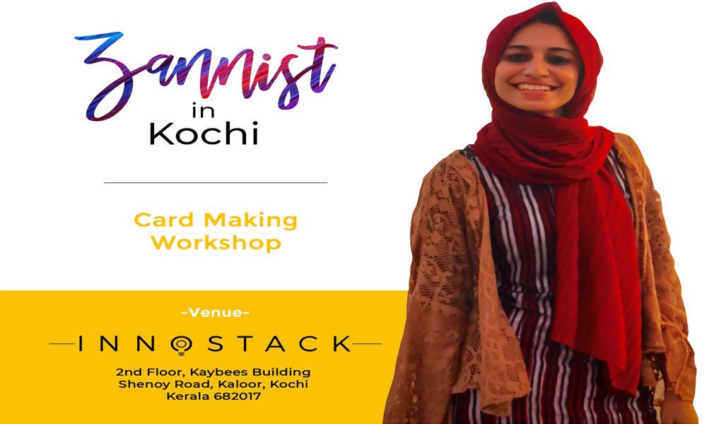 Card Making Workshop by Zannist