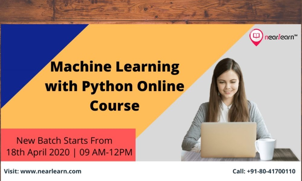 Instructor-led Machine Learning with Python Online Classes