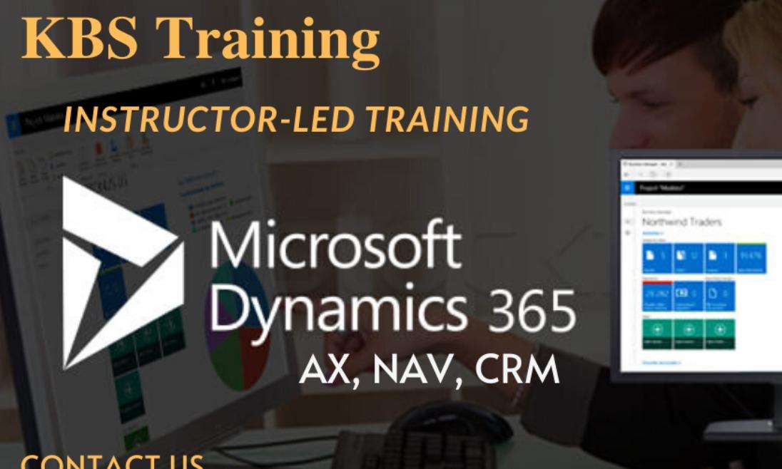 Microsoft Dynamics 365 CRM Training at KBS Training institute