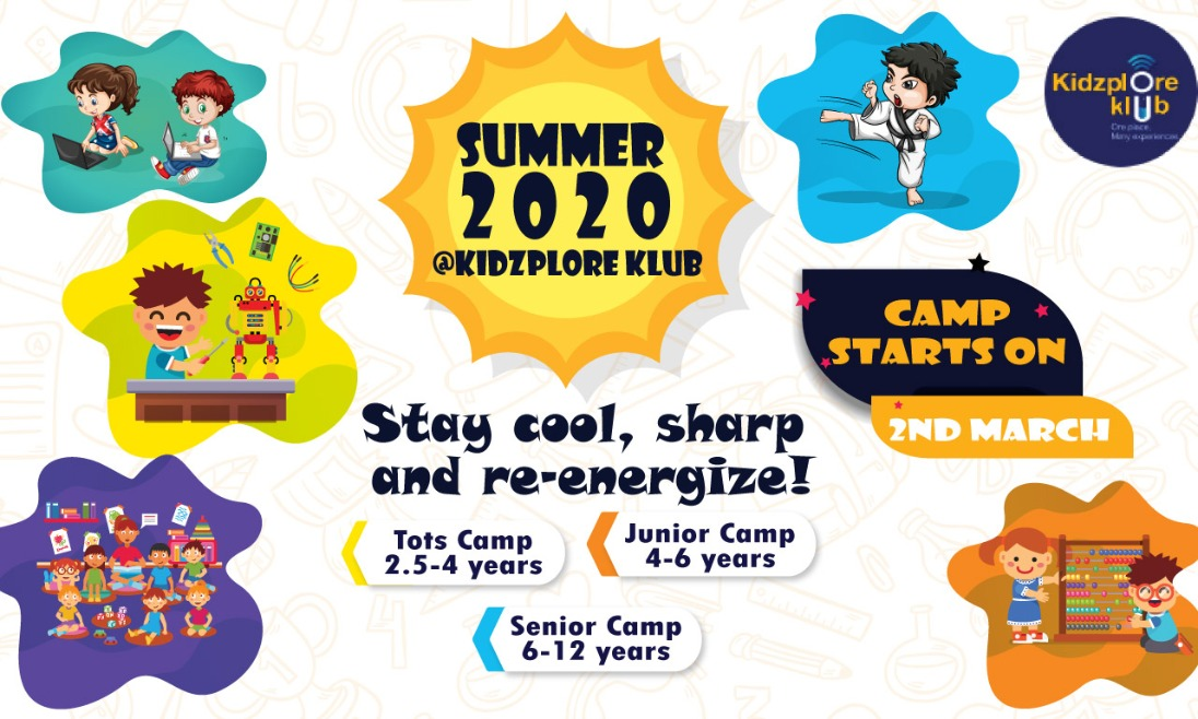 Best Summer Camp for Kids in Hyderabad | Kidzploreklub