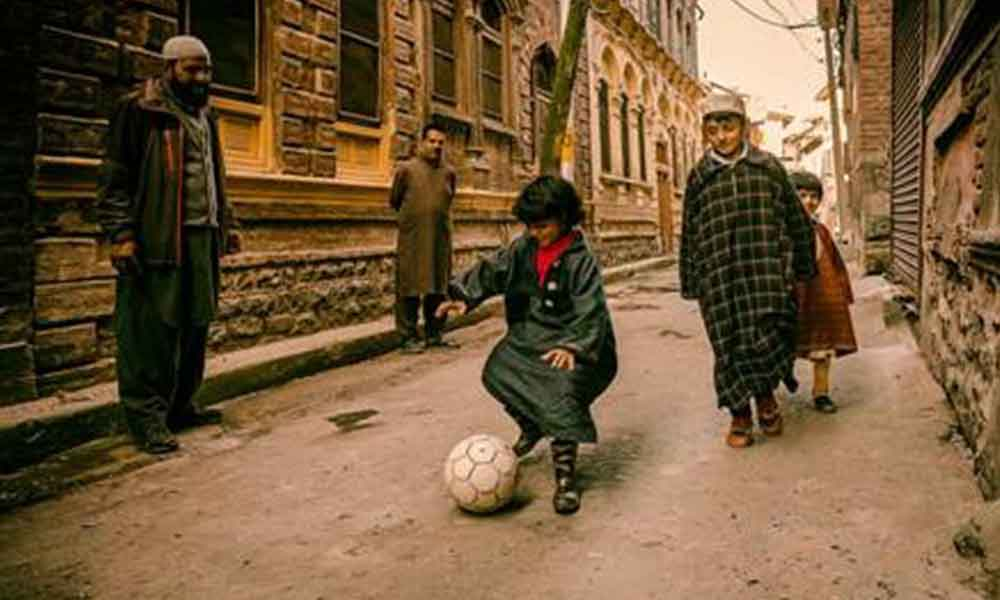 A Photography Exhibition  of Kashmir through the lens of Football