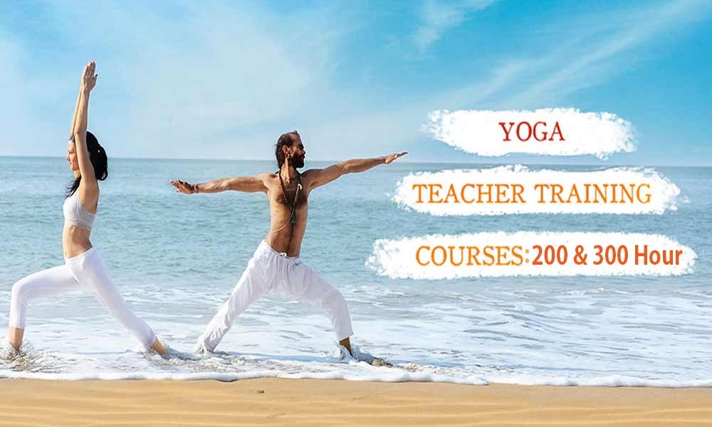 200 and 300 Hours Yoga Training 2019