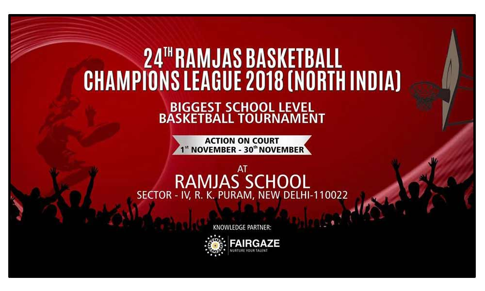 24th Ramjas Basketball Champions League 2018
