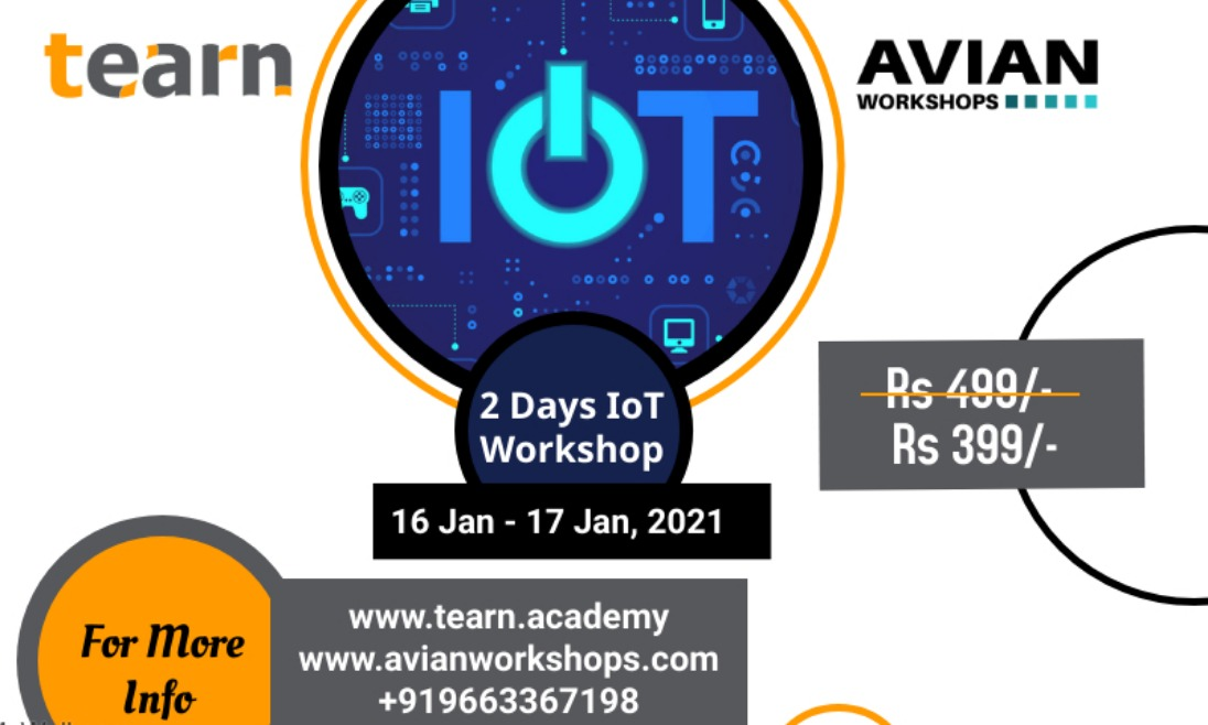 2 Days Workshop On IoT