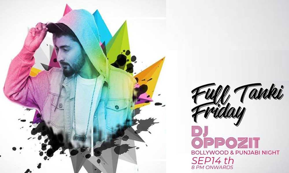 Full Tanki Friday at Output with DJ Oppozit