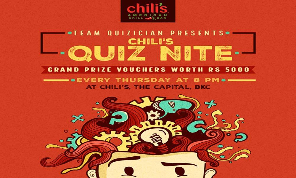 Quiz Nite at Chili's