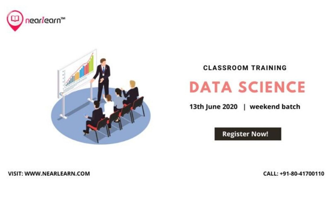 Project-oriented Data science classroom training in Bangalore
