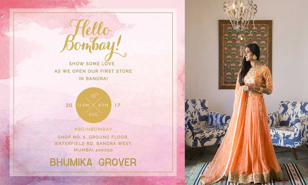 Designer Bhumika Grover To Launch Her First Outlet Lifestyle Events In Mumbai Maharshtra Indiaeve