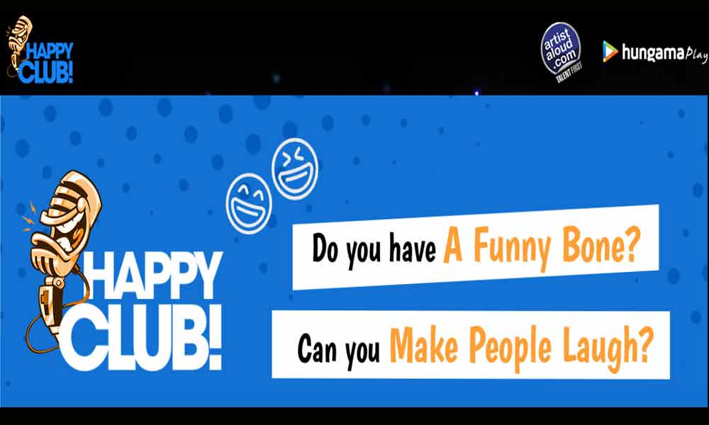Happy Club-India's First Digital Open Mic