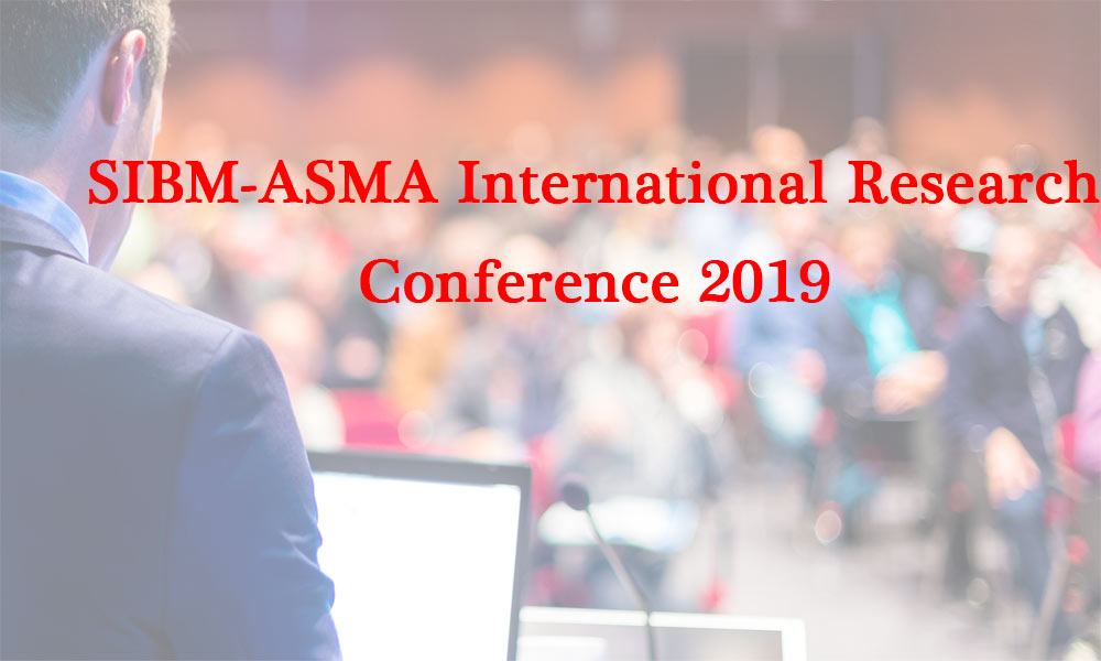 ASMA International Research Conference 2019