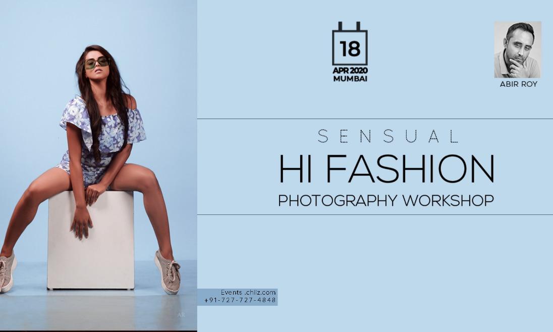 SENSUAL FASHION PHOTOGRAPHY WORKSHOP MUMBAI