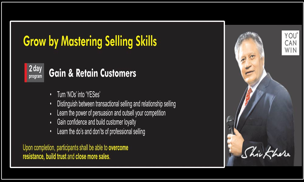 Gain & Retain Customers Program in Mumbai