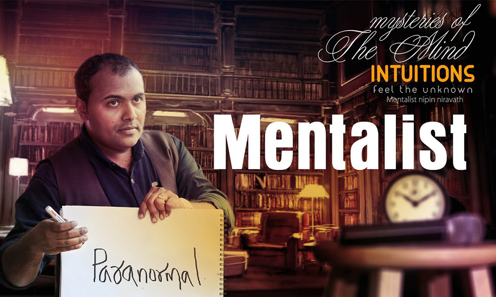 JTPAC Presents The Art of Mentalism Nipin Niravath