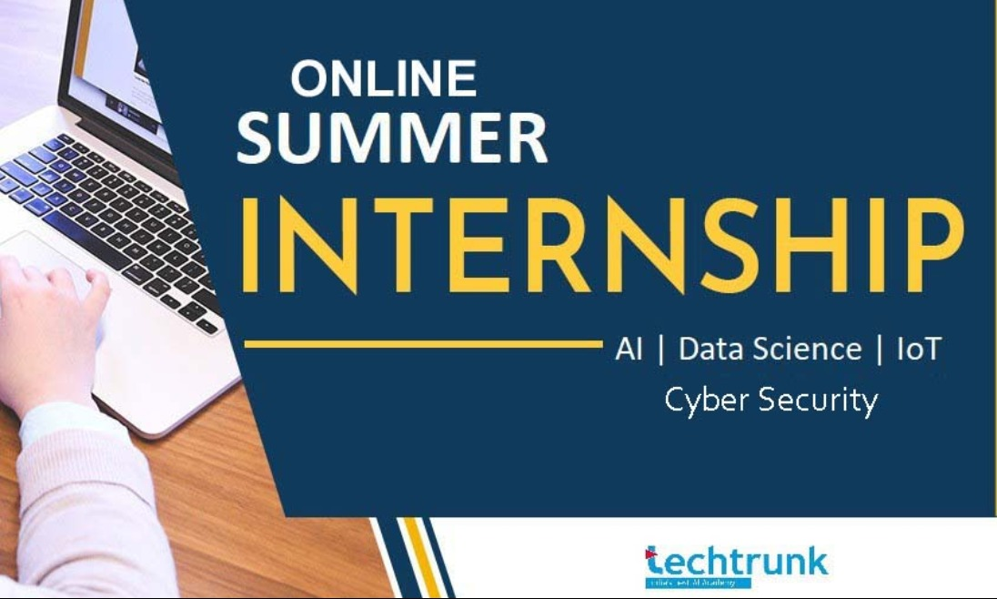 Online Internship & Training Program from TechTrunk
