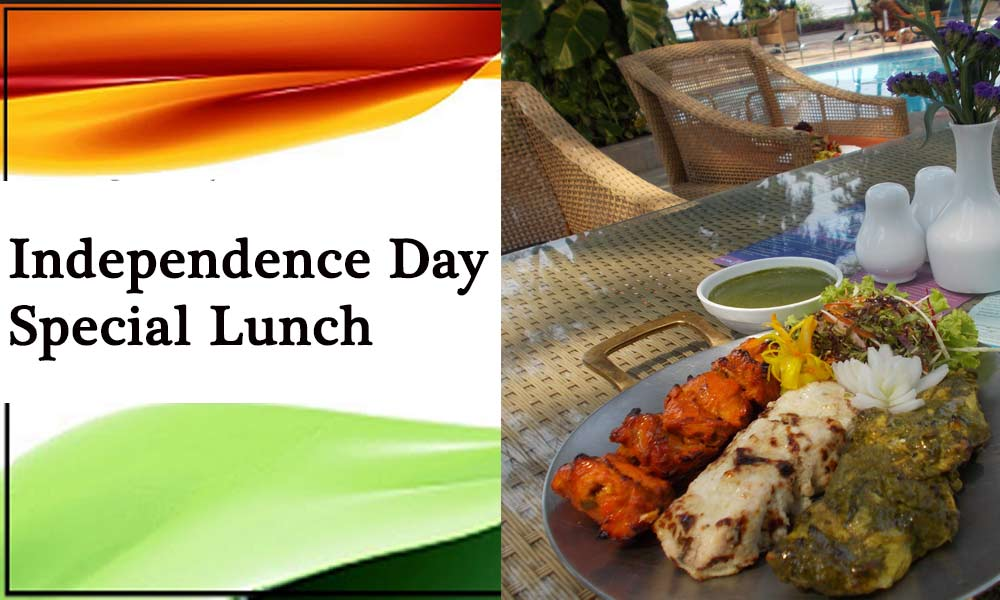 Independence Day Special Lunch
