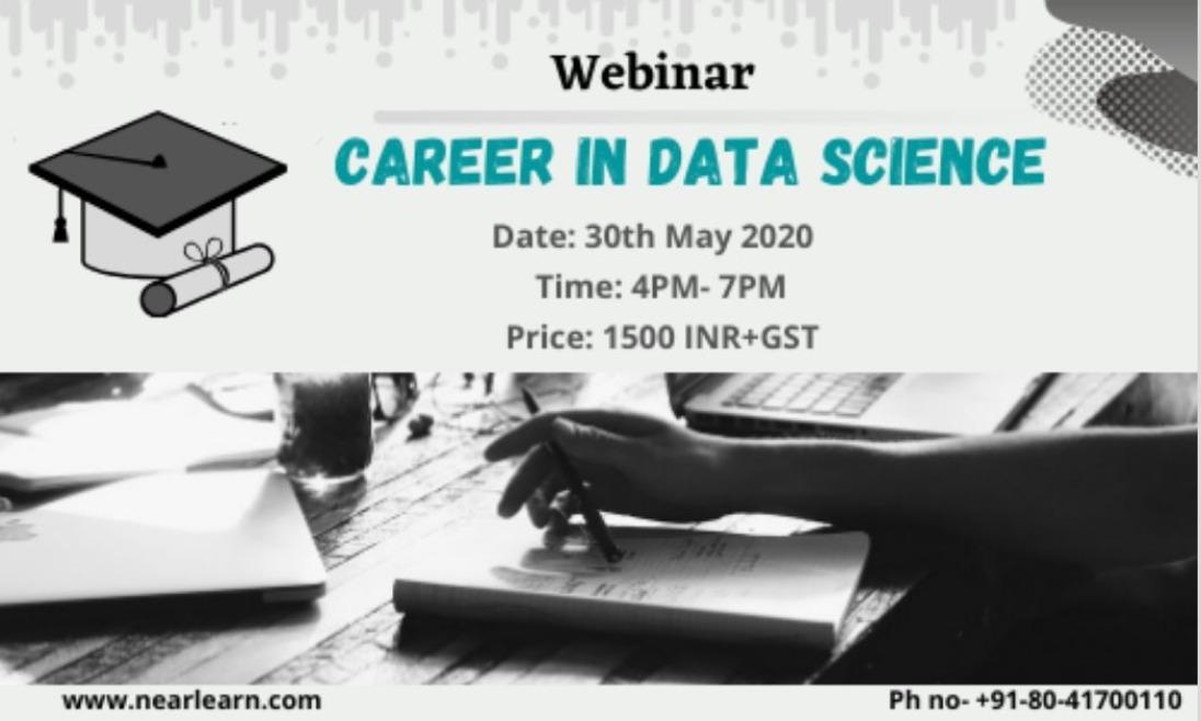 Expert Webinar on Career in Data Science