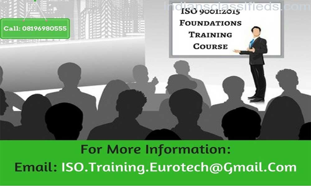 ISO 9001 2015 1 Day Foundation Training Course