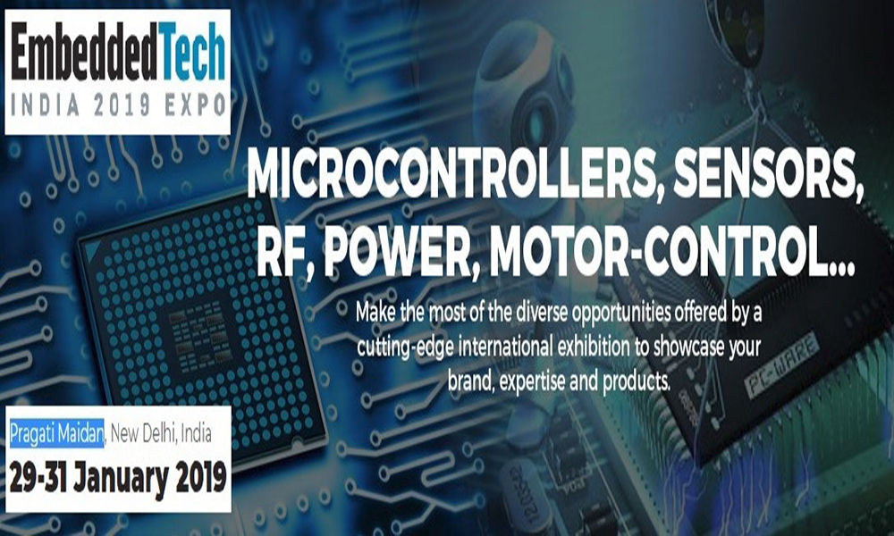 Embedded Tech India Expo 2019