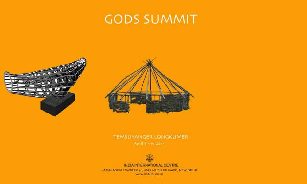 "EXHIBITION ""Gods Summit"" solo art show by Temsuyanger Longkumer"