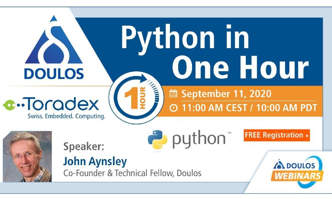 Webinar: Python in One Hour