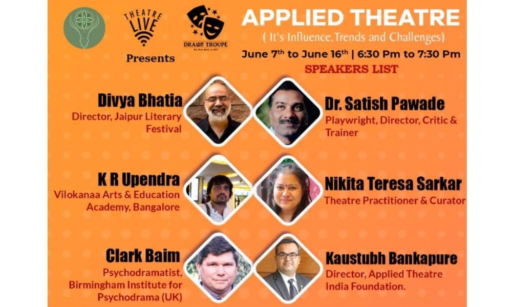 Applied Theatre Webinar