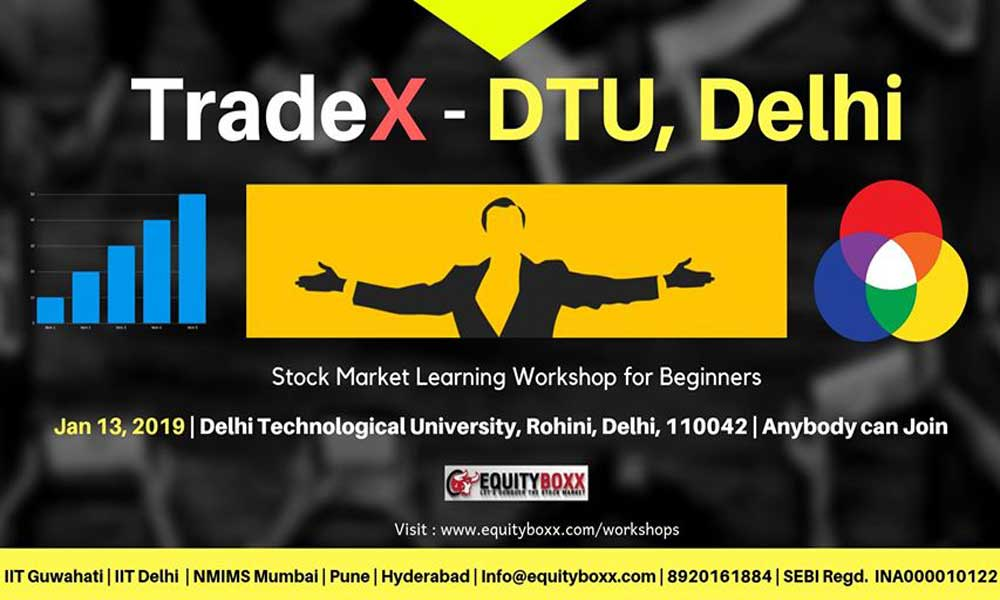 Stock Market Learning Workshop in New Delhi