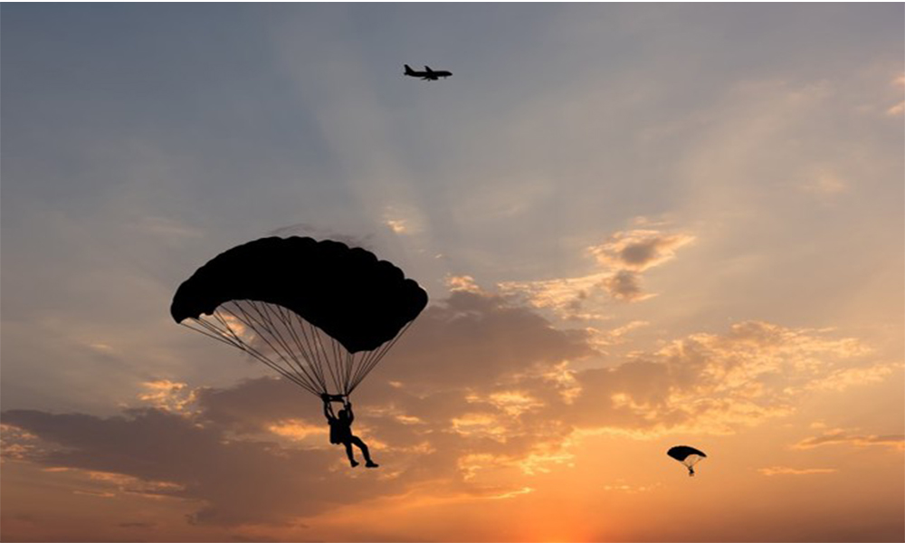 Skydiving in Mysore