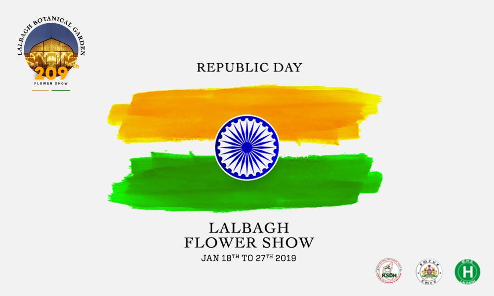 209th Republic Day Flower Show