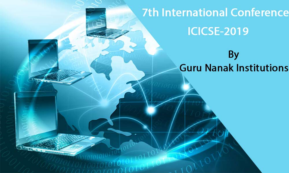 7th International Conference – ICICSE 2019