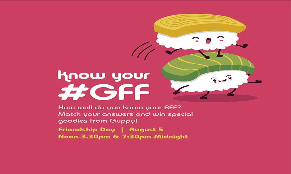 Friendship Day Celebration at Guppy