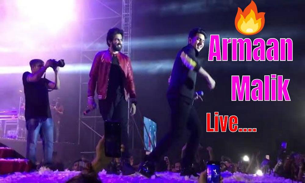 Live Music Concert of Armaan Malik