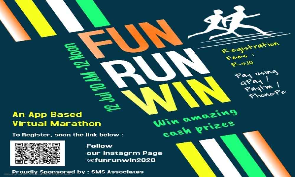 Fun Run Win -A Virtual Marathon