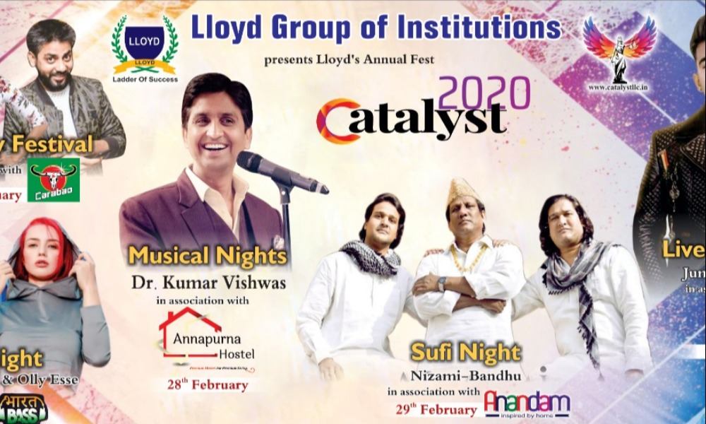 Join Catalyst 2020 at Lloyd College Greater Noida